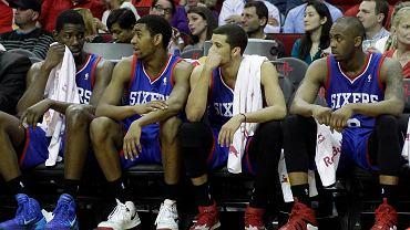 Zrezygnowani gracze 76ers: Henry Sims, Hollis Thompson, Michael Carter-Williams i James Anderson