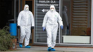 Oddział zakaźny szpitala miejskiego w Poznaniu. Epidemia koronawirusa, 12 marca 2020