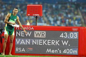Rio 2016. Wayde Van Niekerk z nowym rekordem świata na 400m