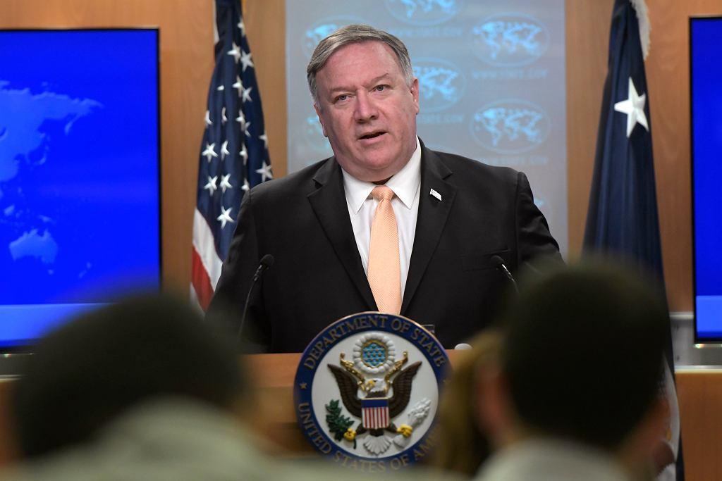 Kryzys w Wenezueli. Sekretarz stanu USA: 'Akcja zbrojna jest możliwa'