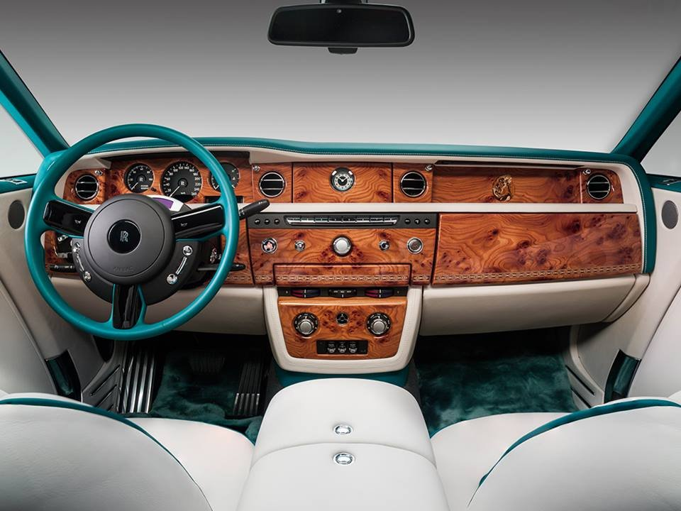 Rolls-Royce Phantom Maharaja Peacock Drophead Coupe