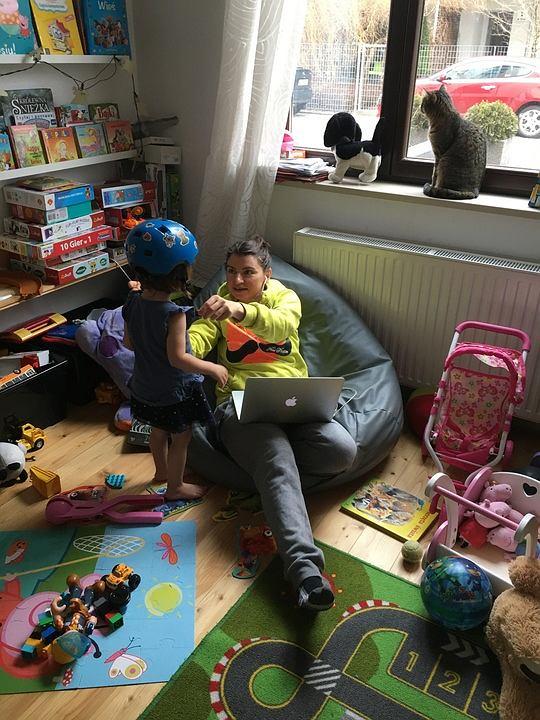 Praca zdalna z dziećmi