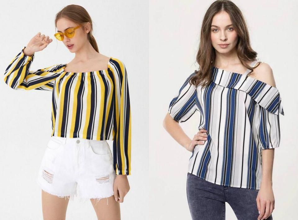 paski to modny wzór, który pozostaje w trendach już od wielu sezonów