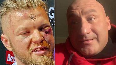 Marcin Najman skomentował wpadkę na ostatniej gali Fame MMA