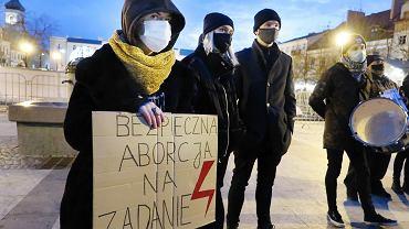 Strajk Kobiet w Dzień Kobiet w Płocku