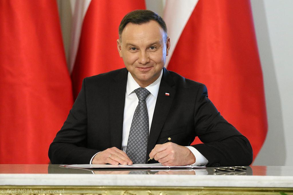 Prezydent Andrzej Duda podpisał nowelizację ustaw sądowych