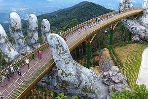 Nie byłeś w Wietnamie? Ten most przekona cię do odwiedzin!