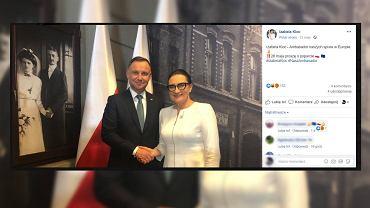 Andrzej Duda i Izabela Kloc