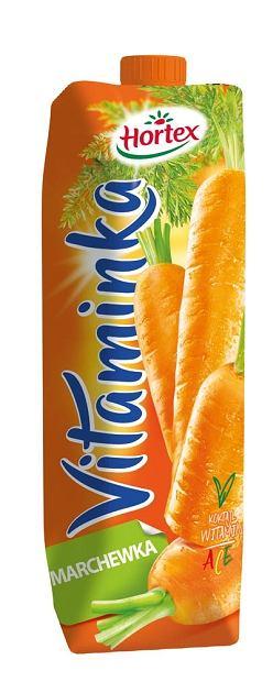 Hortex Vitaminka Marchewka - Sok 1 l