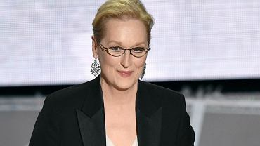 Meryl Streep na Oscarowej gali, 2015