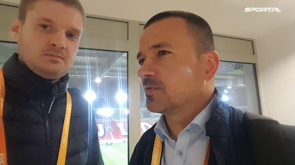 Dominik Wardzichowski i Rafał Ulatowski