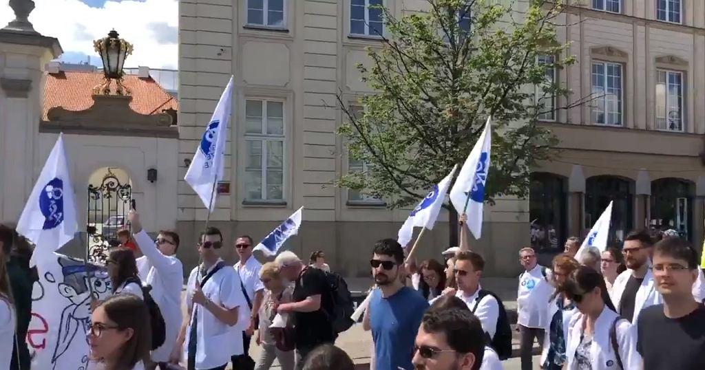 Protest lekarzy 1 czerwca