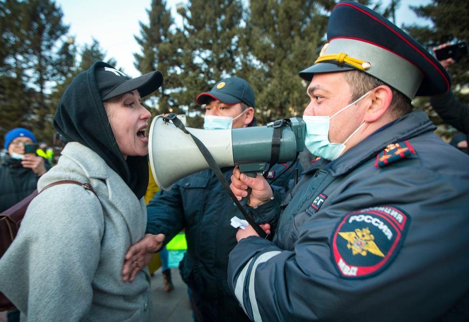 Demonstracje w obronie Aleksieja Nawalnego