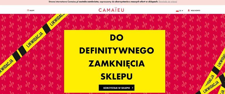 Camaieu zamyka sklepy w Polsce. Sieć organizuje wyprzedaże