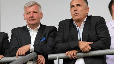 Jarosław Kołodziejczyk (z lewej) i Piotr Wieczorek, wiceprezydent Gliwic