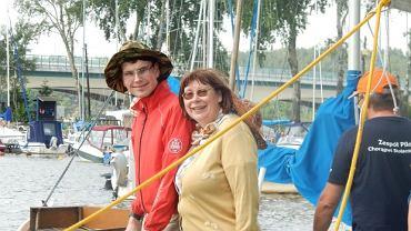 Beata Jaszczur z synem. Tomek ma 21 lat i autyzm
