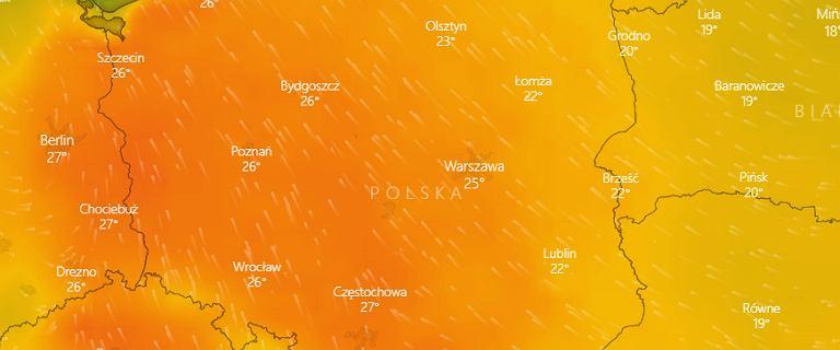 Powietrze znad Afryki przyniosło upały. IMGW: Od czwartku ochłodzenie