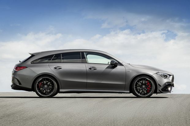 Mercedes-AMG CLA 45 Shooting Brake 2020