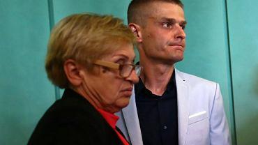 Tomasz Komenda z matką