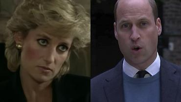Księża Diana, książę William