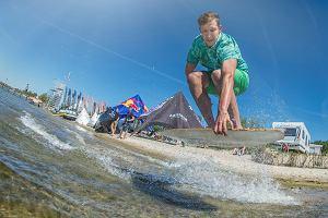 Zakończono pierwsze zawody Pucharu Polski w kitesurfingu pod patronatem PZKite