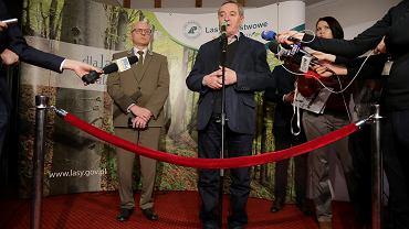 Nowy minister środowiska Henryk Kowalczyk spotkał się z mieszkańcami Białowieży, Hajnówki i okolicznych miejscowości