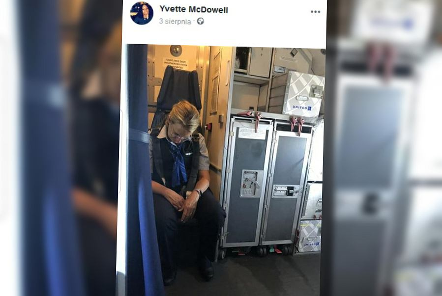 Pijana stewardessa