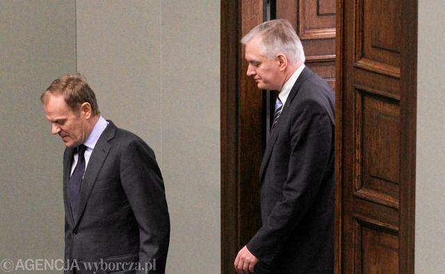 Donald Tusk, Jarosław Gowin