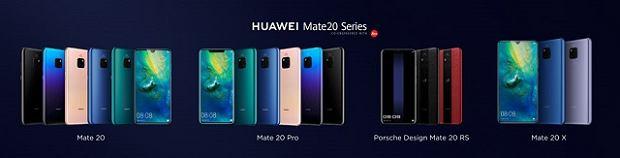 Nowe smartfony Huawei Mate