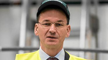 wicepremier Mateusz Morawiecki w Fabryce wagonów Bombardier