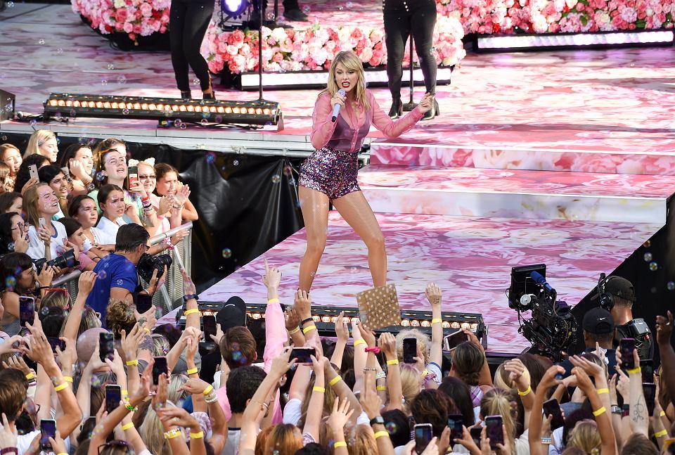 Taylor Swift podczas koncertu w Nowym Jorku, 22 sierpnia 2019.