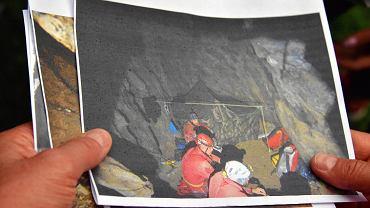 Akcja ratownicza w Jaskini Wielkiej Śnieżnej