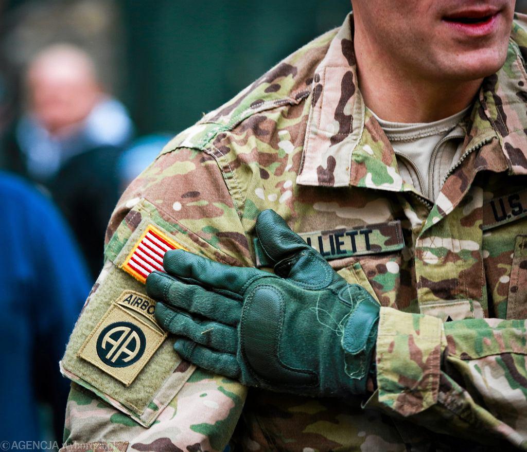 Amerykański żołnierz - zdjęcie ilustracyjne