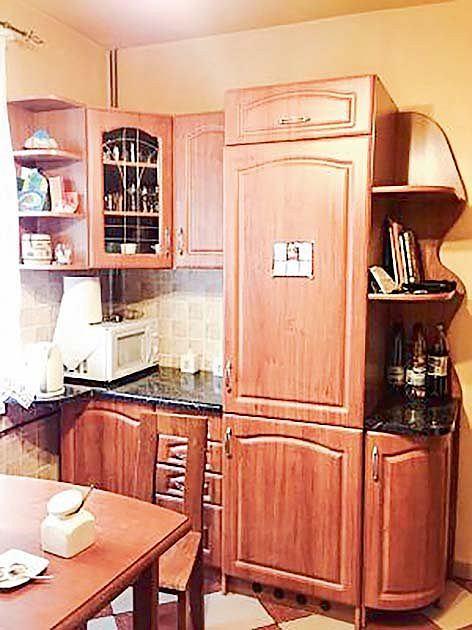 Metamorfoza kuchni - wnętrze przed remontem
