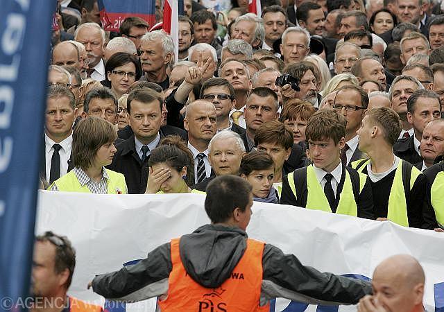 Marsz ''Obudź się Polsko'', 29 września 2012 r.