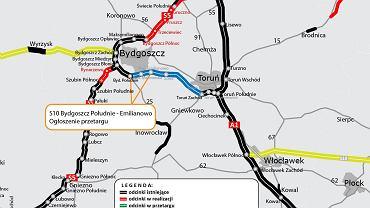 Trasa S10, Bydgoszcz - Toruń
