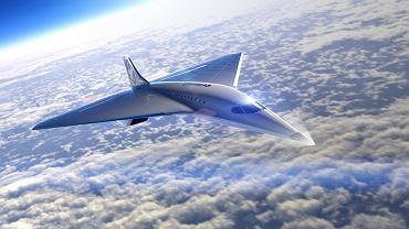 Virgin Galactic zaprezentowało projekt nowego ponaddźwiękowego odrzutowca