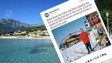 Grek Babis Bizas podróżuje po świecie od 1976 roku. Odwiedził dwukrotnie wszystkie kraje