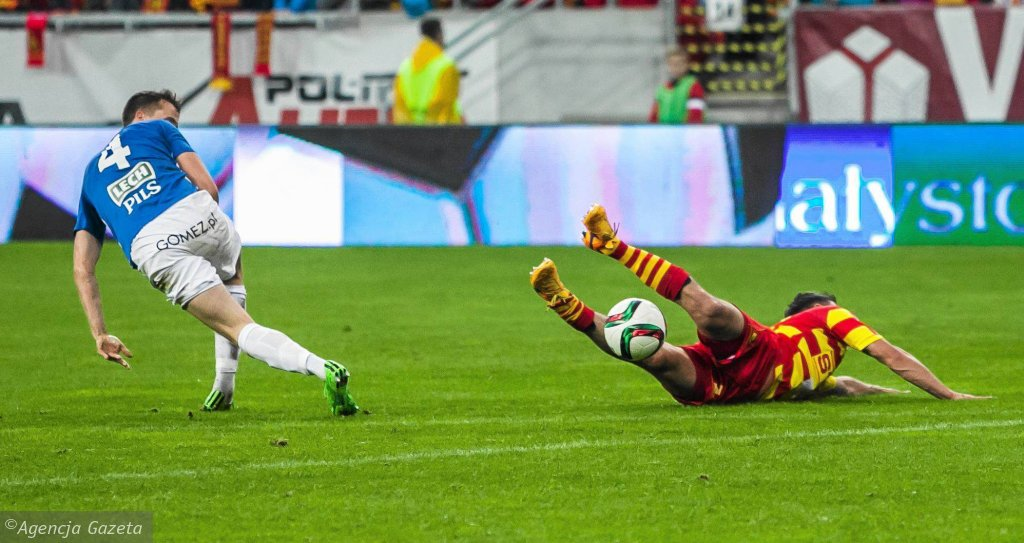 Jagiellonia pokonała Lecha 1:0