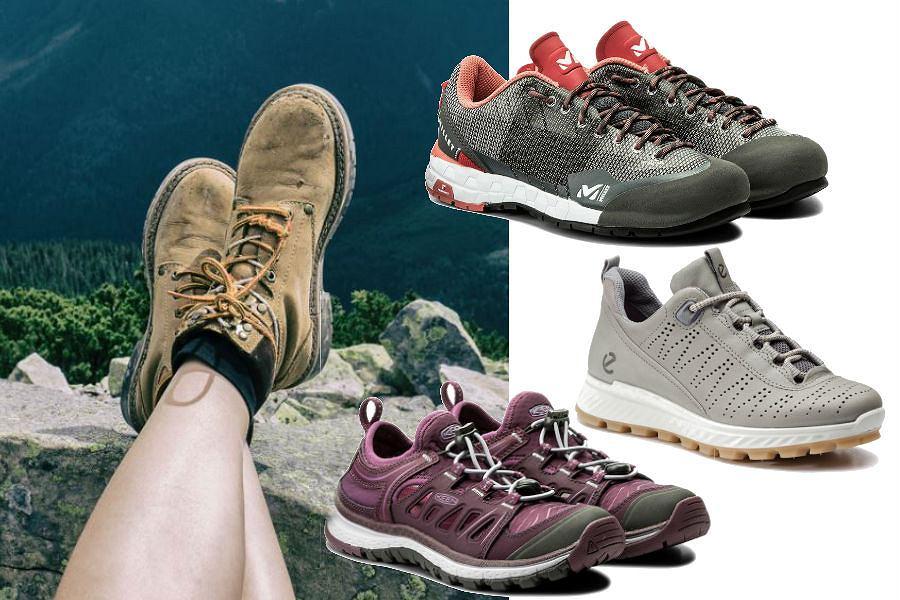 Buty trekkingowe z wyprzedaży