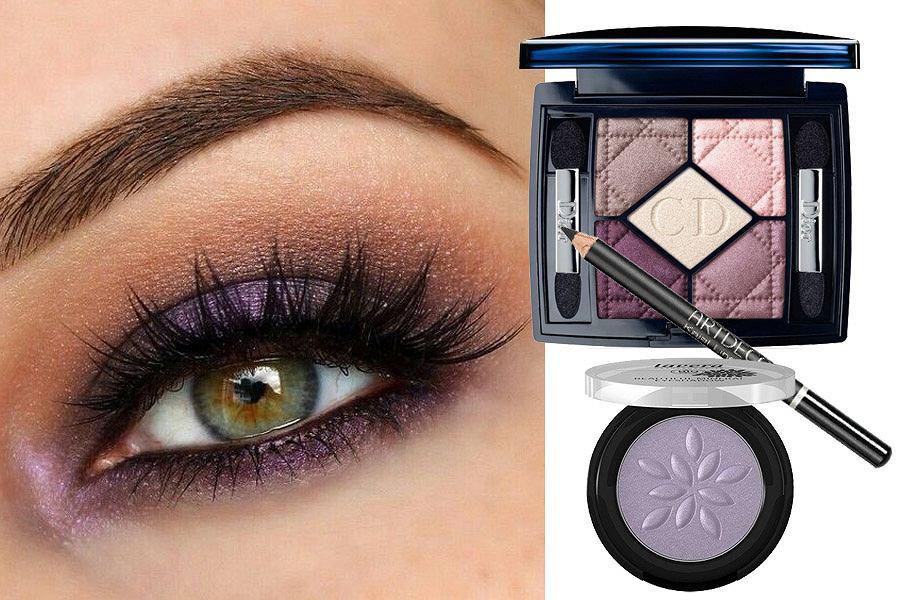 makijaż na sylwestra smoky eyes