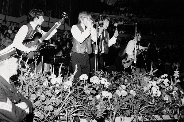 The Rolling Stones - zdjęcie z początków istnienia zespołu