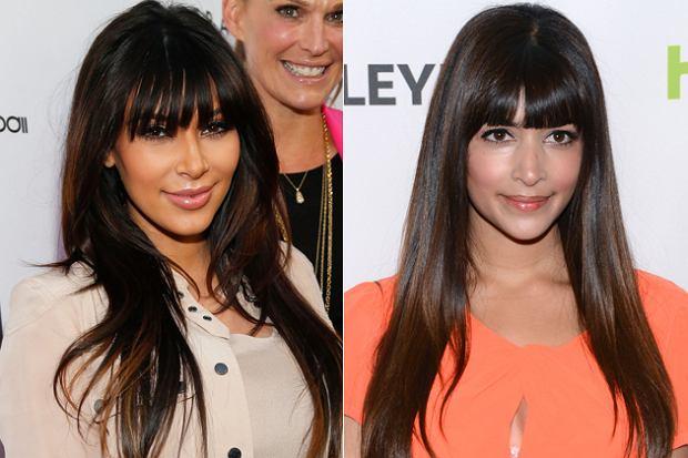Kim Kardashian i Hannah Simone