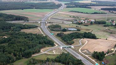 S6, fragment między Kiełpinem i Kołobrzegiem.