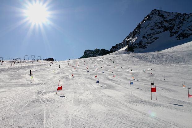 Trening sekcji narciarskie AZS UW 2011