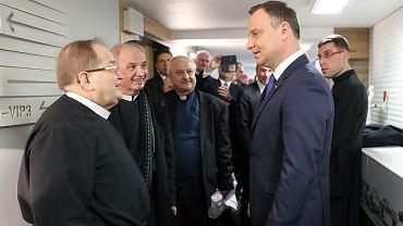 Tadeusz Rydzyk i Andrzej Duda