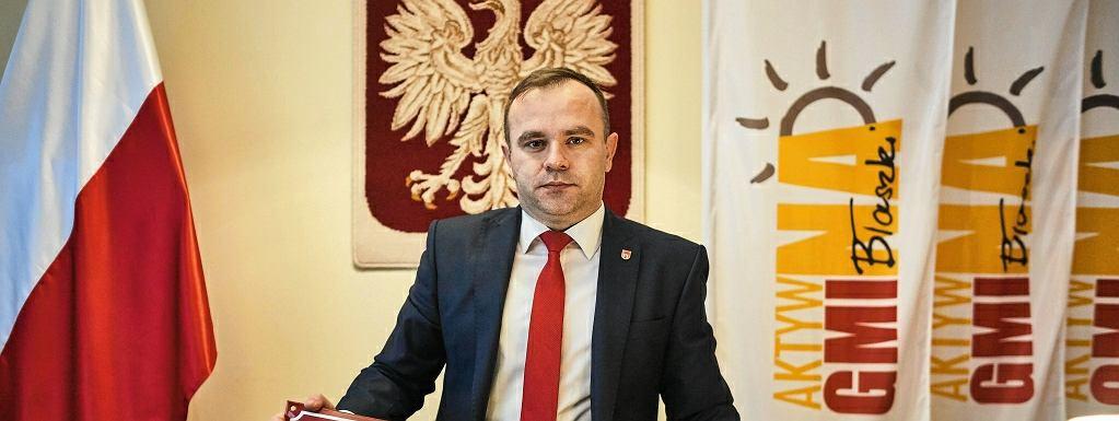 Karol Rajewski, burmistrz Błaszek
