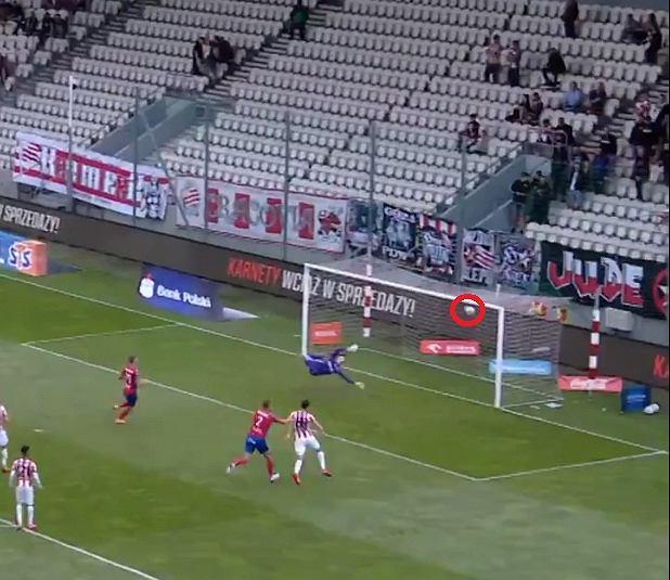 Cudowny gol Tjanicia z Cracovią