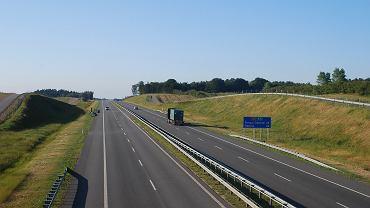 Autostrada A1 na odcinku Rusocin-Swarożyn