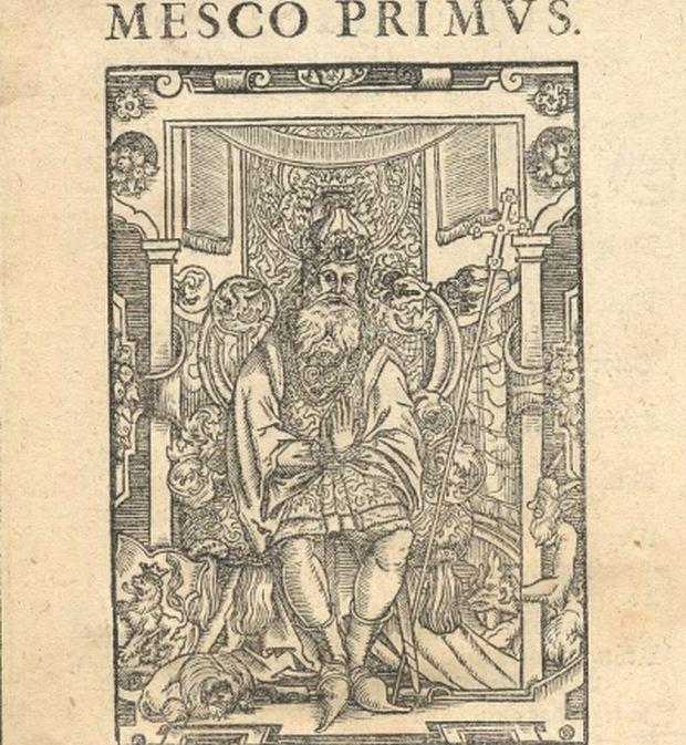 Zdjęcie numer 2 w galerii - 1050. rocznica chrztu Polski. Bez brody, z wąsem, albo z papierosem - różne wizerunki Mieszka I